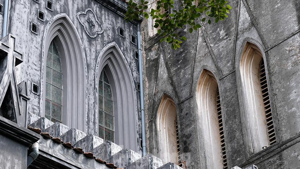 Nhà thờ Lớn Hà Nội trước ngày 'khoác áo mới' ảnh 6